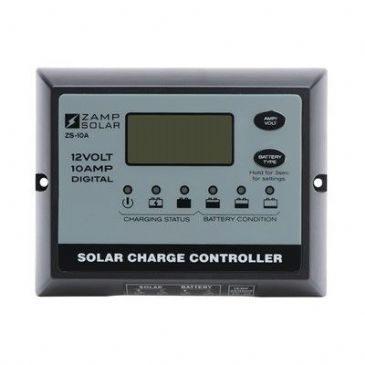 Zamp Solar 10A 5 STAGE WATERPROOF DIGITAL PWM CONTROLLER